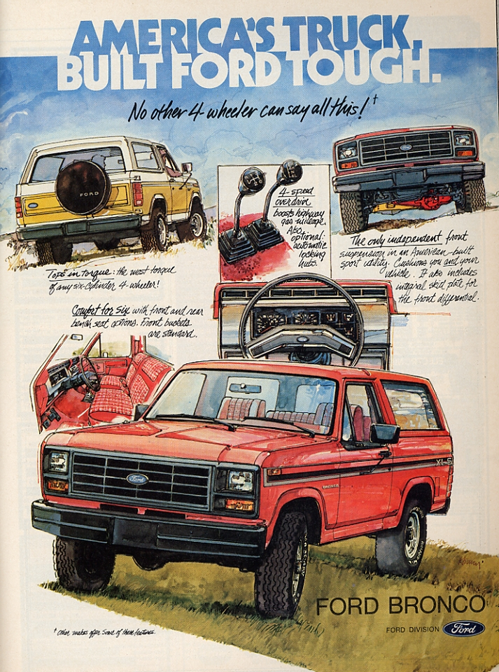 Planet Ford Houston >> Retro Obsession: Ford Bronco   Retro Pop Planet