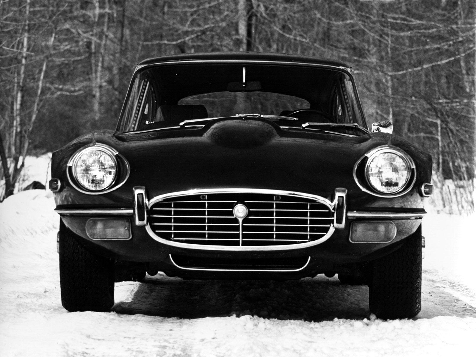 1972 Jaguar EType Coupe V12