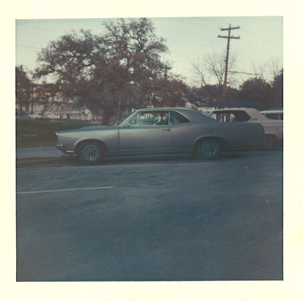 dad's old '67 Pontiac GTO.