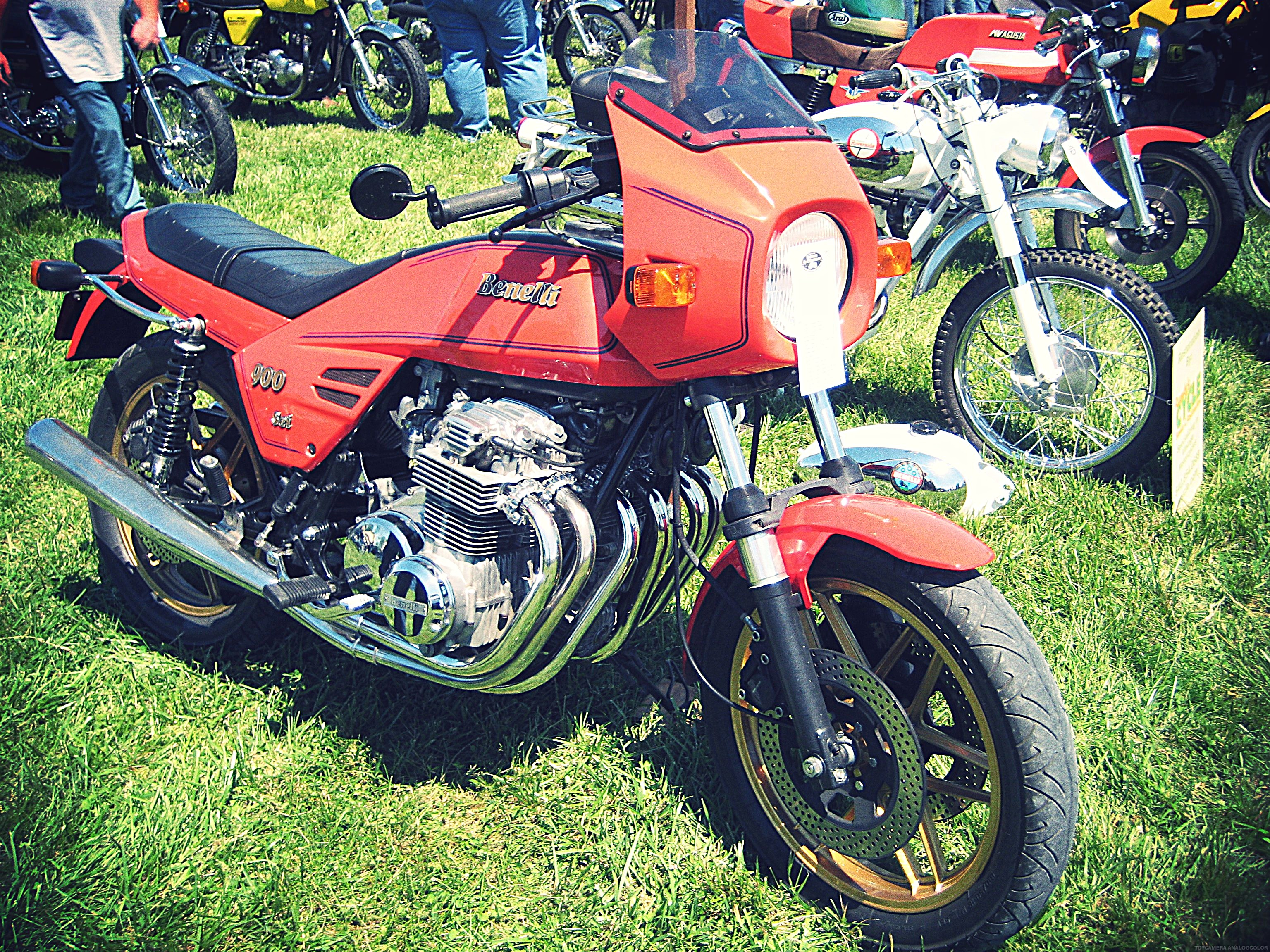 Vintage Benelli 900 Motorcycle
