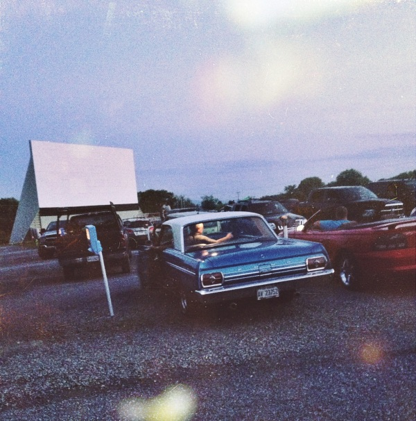 Vintage Ford at the Family Drive-In Theatre