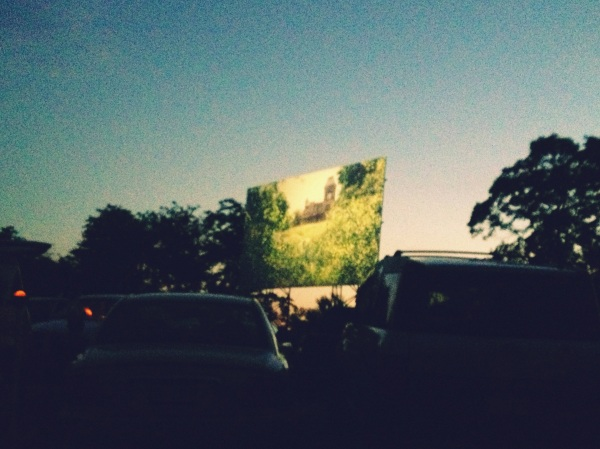 Showtime at the Family Drive-In Theatre